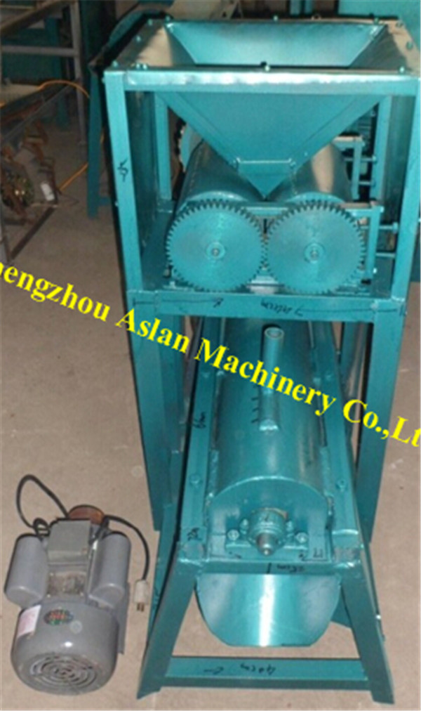snail shelling machine