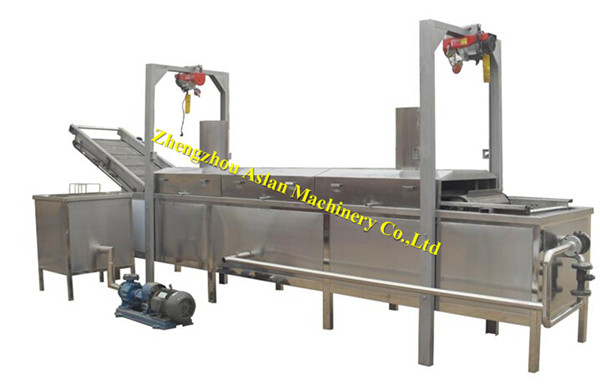 snack food fryer machine