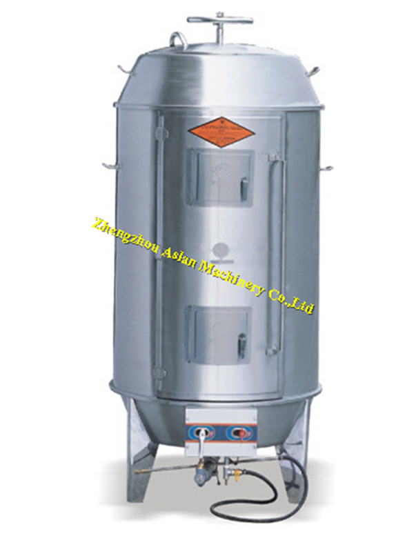 vertical pig roaster machine