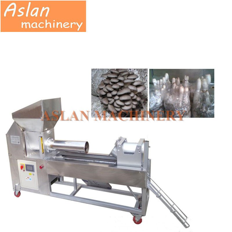 mushroom fungus growing bag filling machine